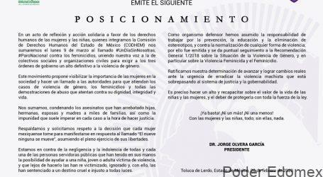 LA CODHEM SE SUMA AL LLAMADO #UNDÍASINNOSOTRAS, #PARONACIONAL