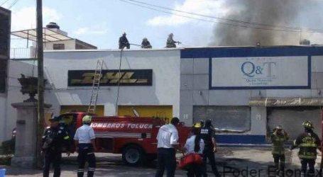 Incendio en una tintorería de Colón; sólo daños materiales