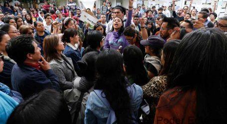 Universitarios rechazan el paro