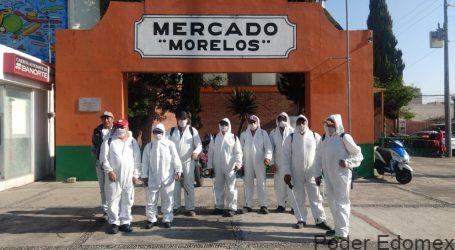 Sanitizan en todo el territorio municipal por Covid-19