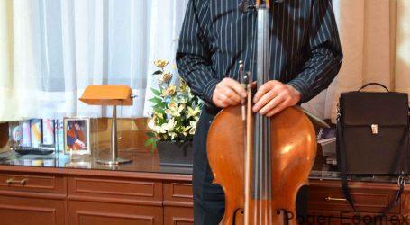 +El violonchelo acompañó toda su vida al maestro Laszlo Frater Harting
