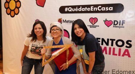 """Continúa en Metepec programa digital """"Momentos en Familia"""" con exitoso resultado"""