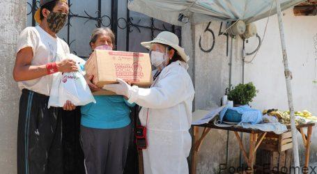 ENTREGA GOBIERNO DE METEPEC APOYOS A GRUPOS VULNERABLES HASTA LA PUERTA DE SUS HOGARES