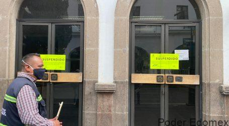 Locales de Telcel y Banamex del Centro Histórico, suspendidos por ilegales