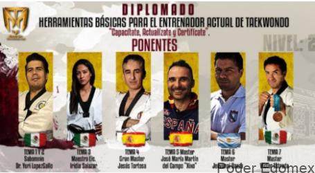 El Taekwondo es infinito. No hay quien sepa todo, premisa  en diplomado de Mundotaekowndo.com