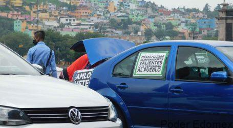 Organiza FRENA 5ª. Manifestación Anti AMLO hasta hubo mariachi