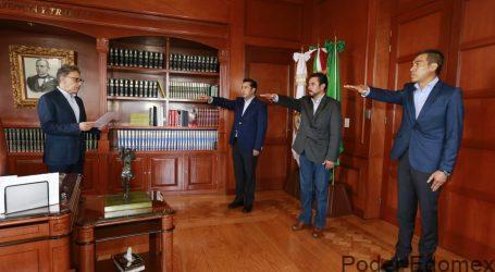 Alfredo Barrera ajustó gabinete de UAEM