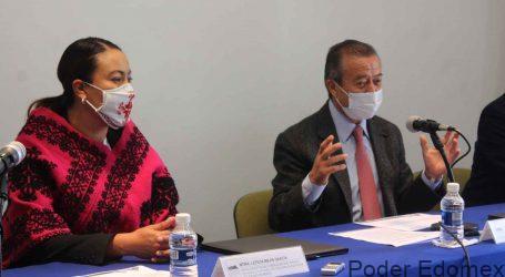 FIRMAN CONVENIO MARCO DE COLABORACIÓN  EL COLEGIO MEXIQUENSE Y EL CEDIPIEM