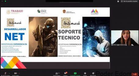 COLOCAN A MÁS DE MIL 500 MEXIQUENSES EN UNA PLAZA LABORAL A TRAVÉS DE LAS BOLSAS DE TRABAJO VIRTUALES