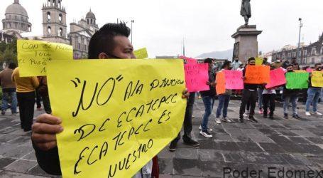 No quieren que se divida Ecatepec
