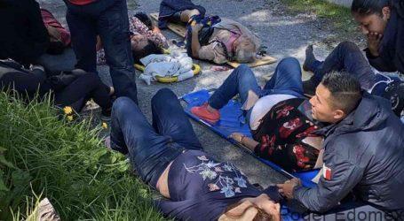 Accidente deja 16 lesionados, 2 fallecidos, en el municipio de Isidro Fabela, Estado de México