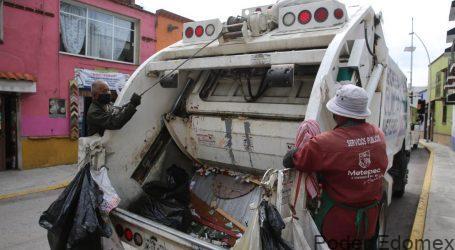 Metepec cuenta con el mejor sistema de recolección de residuos en el Edomex