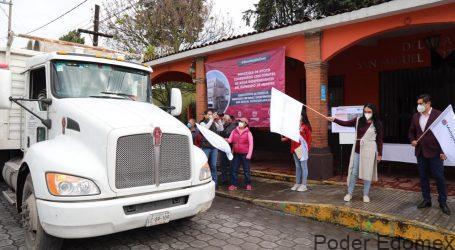 GABY GAMBOA DA BANDERAZO DE SALIDA DE IMPORTANTE OBRA HIDRÁULICA EN SAN MIGUEL TOTOCUITLAPILCO*
