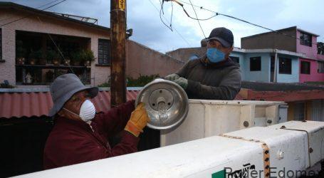 En promedio Gobierno de Metepec rehabilita al día 60 lámparas de alumbrado público