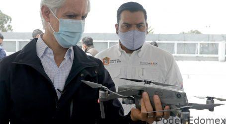 SEÑALA DEL MAZO QUE USO DE DRONES FORTALECE LAS ACCIONES DE SEGURIDAD Y VIGILANCIA EN EDOMÉX