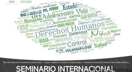 INICIA EL SEMINARIO WEB SOBRE EL SISTEMA NO JURISDICCIONAL DE PROTECCIÓN A DERECHOS HUMANOS