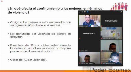 NECESARIO VISIBILIZAR EL IMPACTO DEL CONFINAMIENTO POR COVID-19 EN LA VIDA DE LAS MUJERES: CODHEM