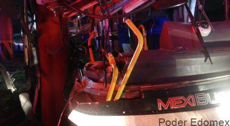 RECIBEN ALTA MÉDICA NUEVE DE LAS 11 PERSONAS LESIONADAS EN EL ACCIDENTE DE MEXIBÚS