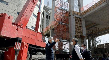 SUPERVISA DEL MAZO CONSTRUCCIÓN DE LA LÍNEA 2 DEL MEXICABLE ECATEPEC-INDIOS VERDES