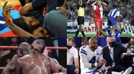 Las peores lesiones en el deporte
