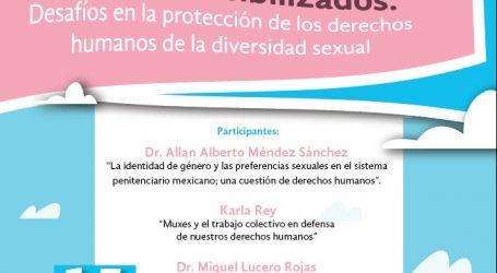 """LA CODHEM INVITA AL COLOQUIO """"SUJETOS INVISIBILIZADOS DESAFÍOS EN LA PROTECCIÓN DE LOS DERECHOS HUMANOS DE LA DIVERSIDAD SEXUAL"""""""