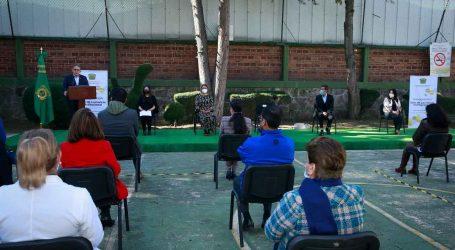 Alfredo Barrera inauguró cuarta sala de lactancia de UAEM