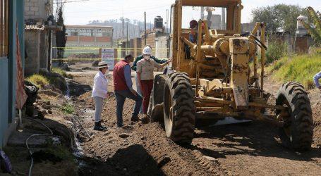 Mejoran vialidades en el Ayuntamiento de Metepec