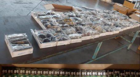 Aduanas frena el ingreso ilegal de 10 mil pruebas COVID-19, termómetros, juguetes y gafas
