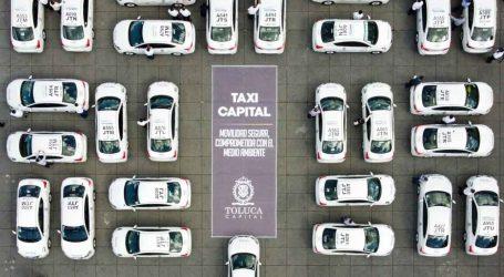 Ponen en marcha Taxi Capital, único en su tipo en el país