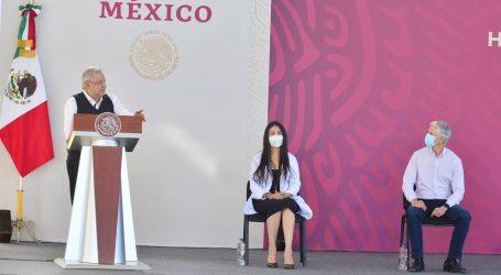 AMLO Y ADM INAUGURAN HOSPITAL EN TEXCOCO