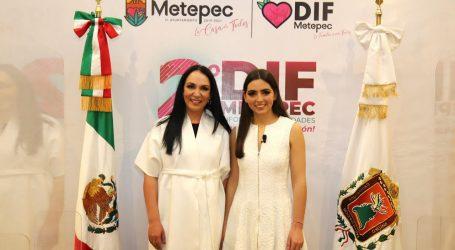 En Metepec habitantes encuentran en el DIF Municipal una mano comprometida con el bienestar de las familias: Mariana Cabeza