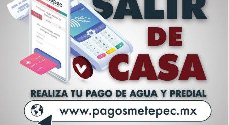 FACILITA METEPEC EL PAGO DE AGUA Y PREDIAL SIN SALIR DE CASA