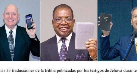 Los Testigos de Jehová proyectan publicar la Biblia en 36 idiomas durante 2021