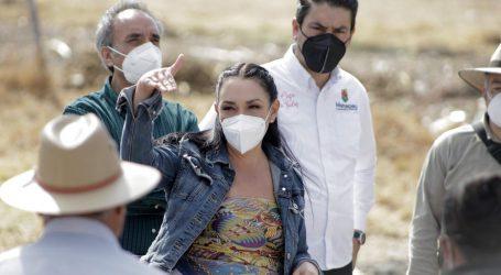 Responde Gabriela Gamboa a casi 4 mil metepequenses llevando agua potable