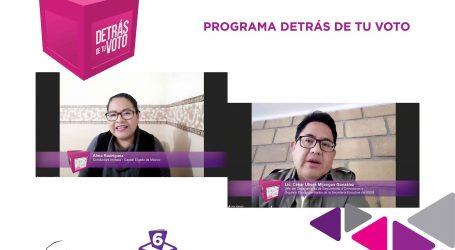 REGULACIÓN EN ENCUESTAS ELECTORALES PERMITE TRANSPARENTAR PROCESOS A LA CIUDADANÍA: IEEM