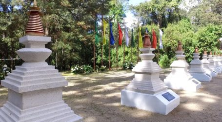 MUESTRAN LA GRAN STUPA DE LA PAZ, EMBLEMÁTICO MONUMENTO BUDISTA UBICADO EN VALLE DE BRAVO