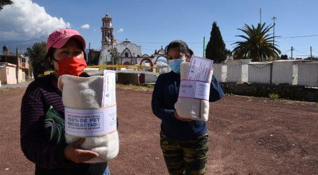 DE PET A COBIJA: LA TRANSFORMACIÓN DE UN DESECHO QUE PUEDE CAUSAR INUNDACIONES, EN BENEFICIO PARA LOS MEXIQUENSES