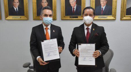 LA CODHEM Y LA SECRETARÍA DE LA CONTRALORÍA ACUERDAN USO DEL SISTEMA DeclaraNet EN LA DEFENSORÍA MEXIQUENSE