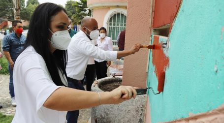 Regresa el color a la zona habitacional más poblada es  cumplir compromisos con la ciudadanía: Gabriela Gamboa
