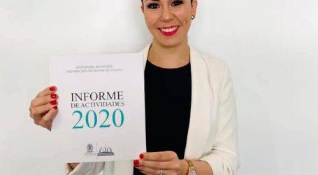 ENTREGÓ DEFENSORA MUNICIPAL DE DERECHOS HUMANOS INFORME DE ACTIVIDADES 2020