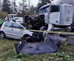 Choque múltiple en la carretera México-Toluca, 4 muertos