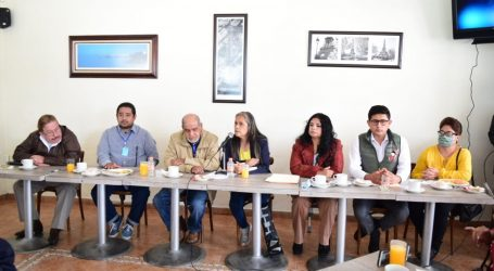 Inconformes comerciantes de Toluca