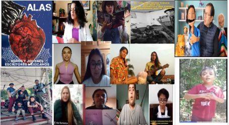 Lenguajes del Arte con Academia Latinoamericana  ALAS niños y jóvenes escritores mexicanos