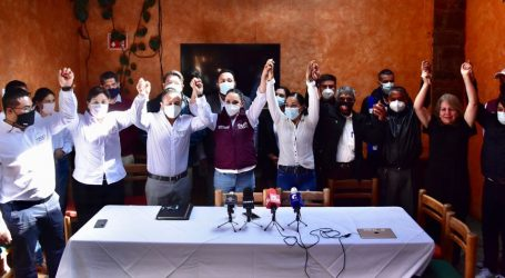 RECIBE GABY GAMBOA ADHESIÓN A SU PROYECTO DE EX REGIDORES DE PRI, PAN Y PRD Y ASOCIACIÓN ORSI