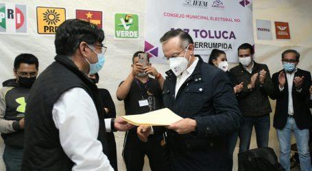 Recibe Raymundo Martinez Constancia de Mayoría