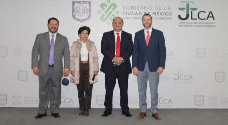 FIRMAN JUNTAS DE CONCILIACIÓN Y ARBITRAJE DE LA CDMX Y DEL EDOMÉX CONVENIO DE COLABORACIÓN