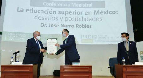Calidad, condición indispensable de la Universidad pública: José Narro