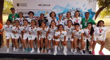 Obtiene equipo femenil de fútbol de la UAEM medalla de plata en Campeonato Nacional Universitario