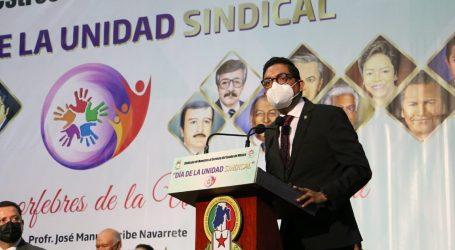 Llama Manuel Uribe a defender la Unidad del SMSEM, por encima de intereses personales o de grupos