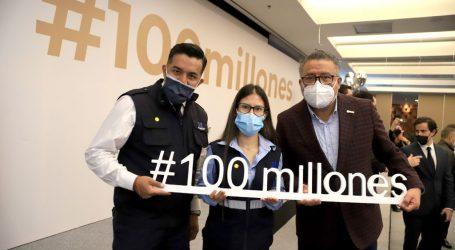 Han llegado a México 100 millones De vacunas anticovid: Horacio Duarte